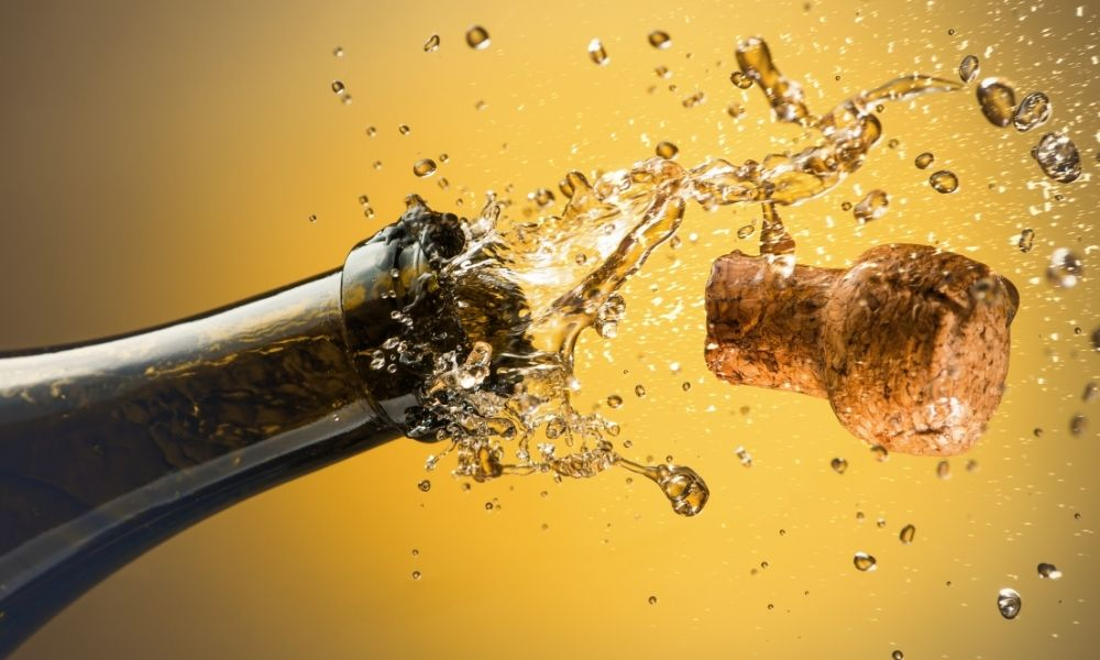 Verschillende soorten champagne